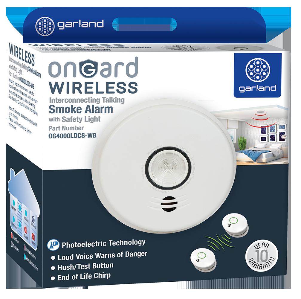 onGard OG4000LDCS-WB smoke alarm